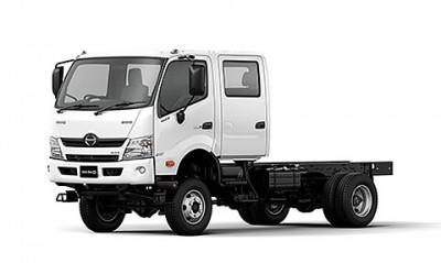 New Hino 300 Series 4x4