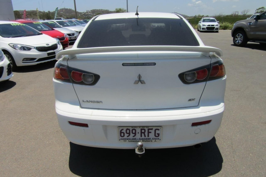 2010 MY11 Mitsubishi Lancer CJ MY11 SX Sedan