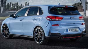 i30 N Rear design