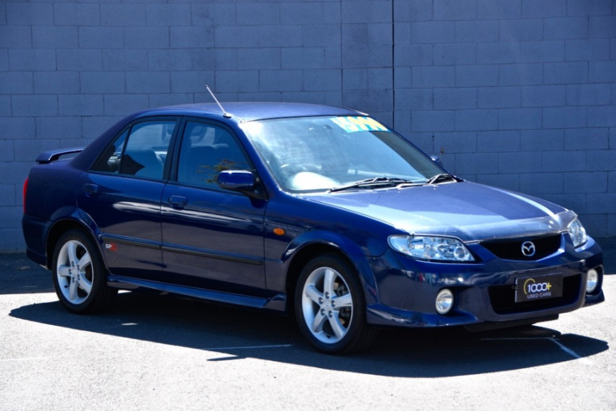 2002 Mazda 323 BJ II-J48 SP20 Sedan