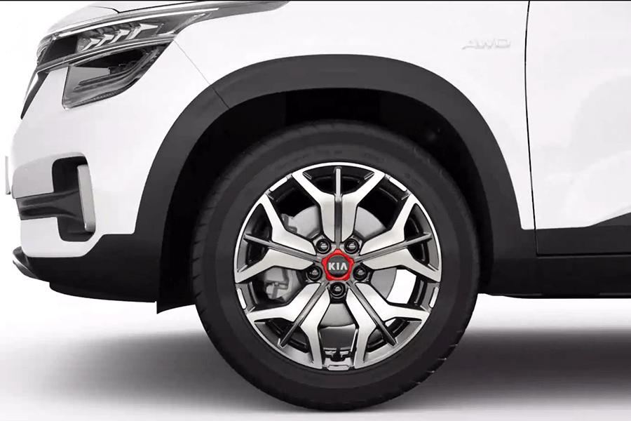 Seltos Alloy wheels