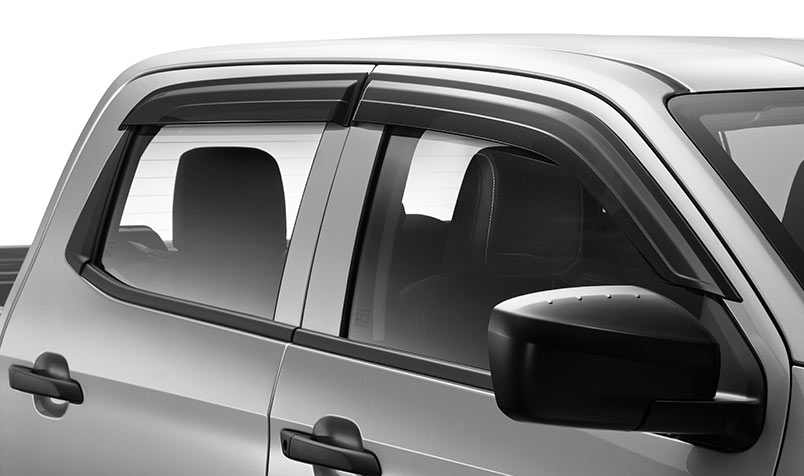 Front & Rear Slimline Weathershields