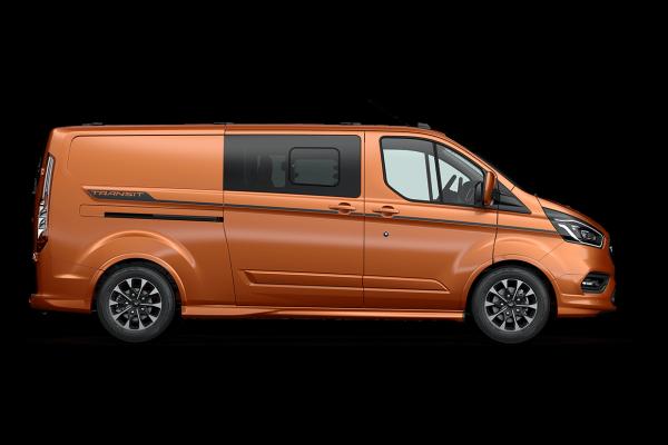2021 MY20.5 Ford Transit VN Custom Sport 320L DCiV Utility Image 2