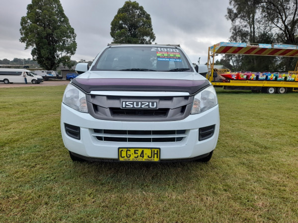 2015 MY15.5 Isuzu UTE D-MAX SX 4x2 Single Cab Chassis Low-Ride Cab chassis