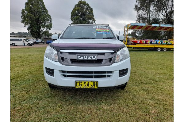 2015 MY15.5 Isuzu UTE D-MAX SX 4x2 Single Cab Chassis Low-Ride Cab chassis Image 2