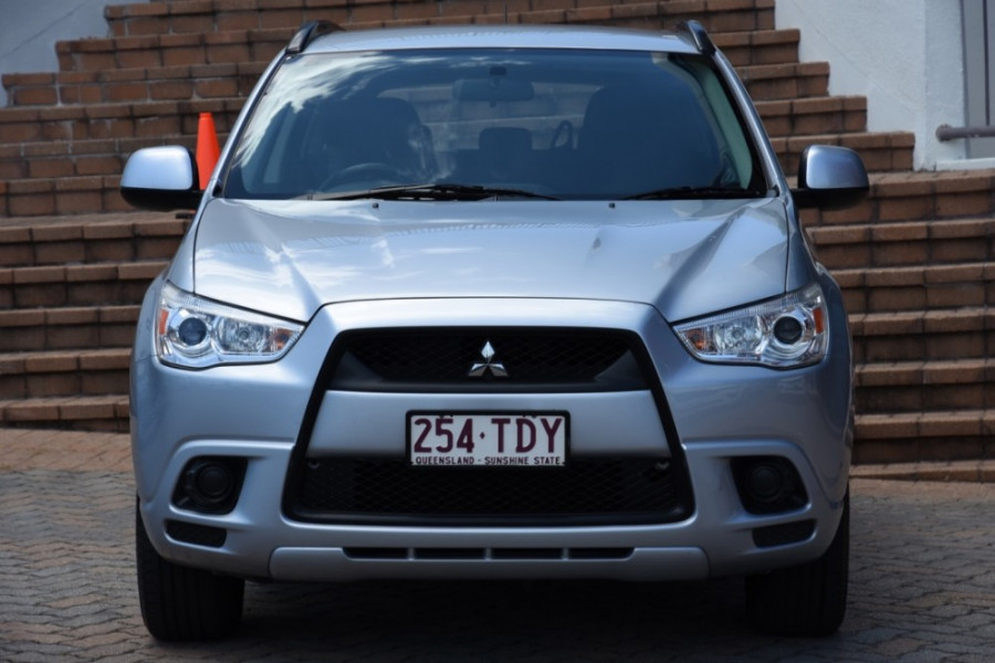 2012 Mitsubishi ASX XA MY12 Platinum Suv