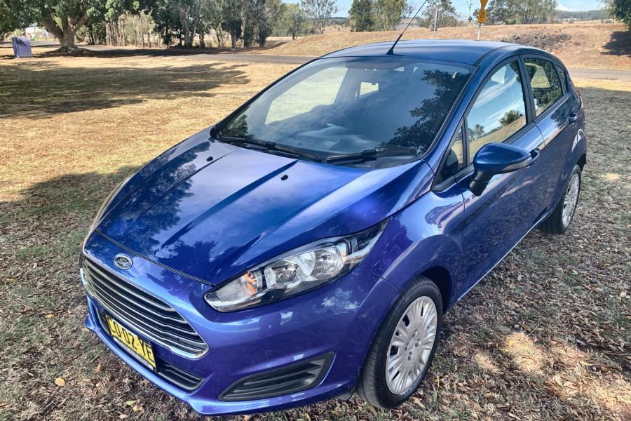 2017 Ford Fiesta WZ Ambiente Hatch