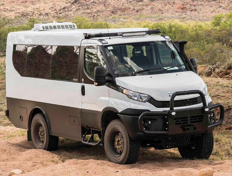 Daily 4x4 Minibus FRAME, SUSPENSION & COMFORT