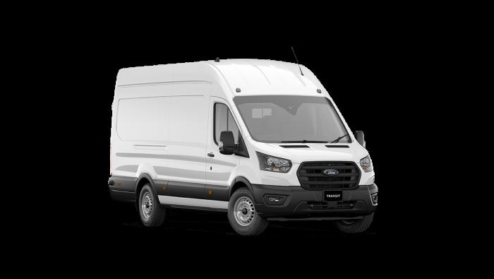 2020 MY21 Ford Transit VO 350E Jumbo Van Van image 1