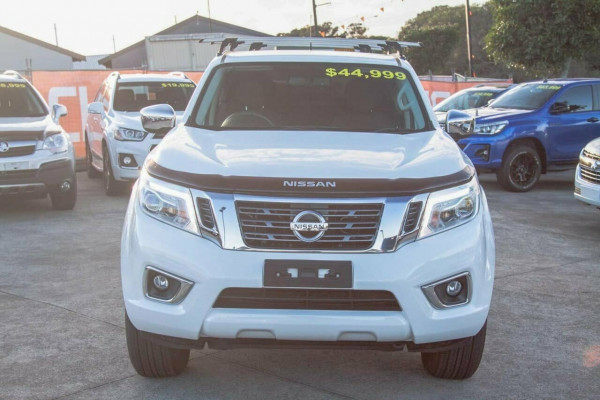 2017 Nissan Navara D23 Series II ST (4x4) Dual cab utility Image 3