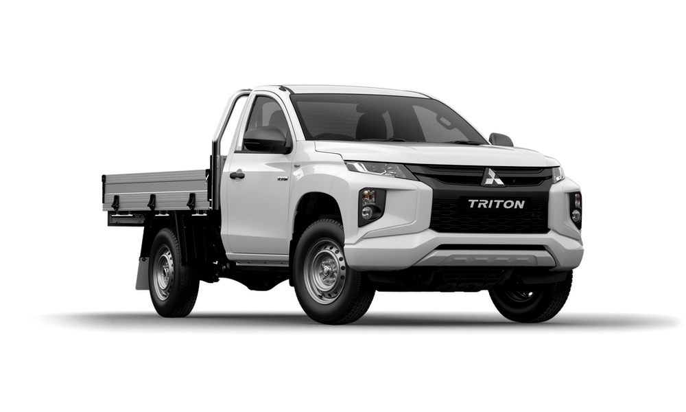 19MY TRITON GLX SINGLE CAB - CAB CHASSIS 2WD PETROL MANUAL