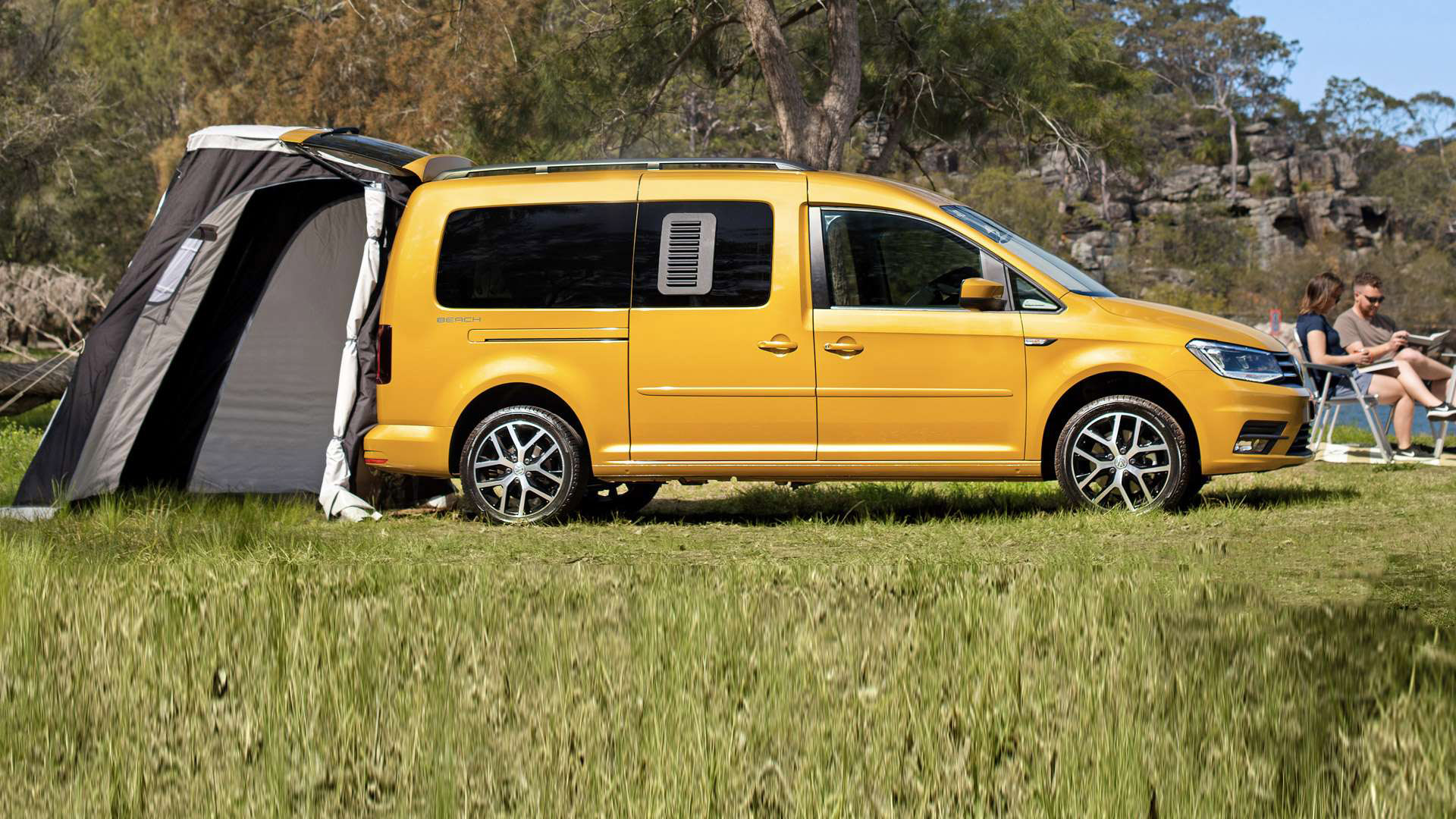 A lot goes into a Volkswagen Caddy. Image