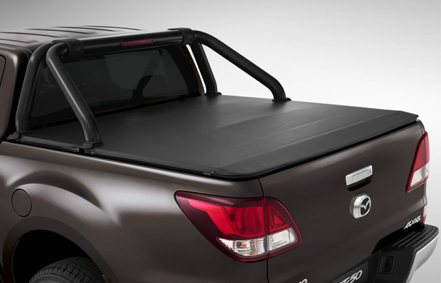 SOFT TONNEAU COVER - COMPATIBLE WITH SPORTS BAR
