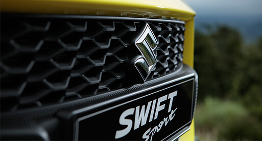Swift Sport Grille and Bumper