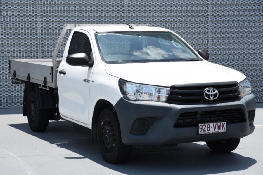 2015 Toyota HiLux TGN121R Workmate