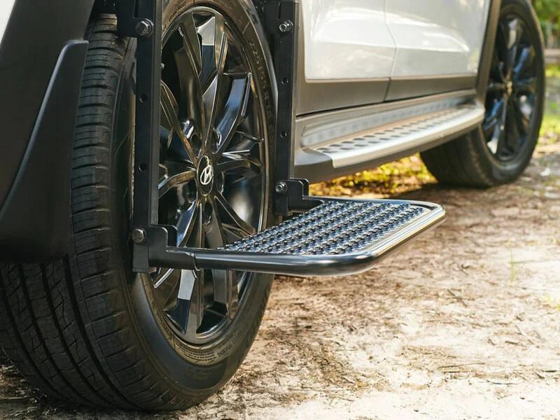 """<img src=""""Rear wheel side step"""