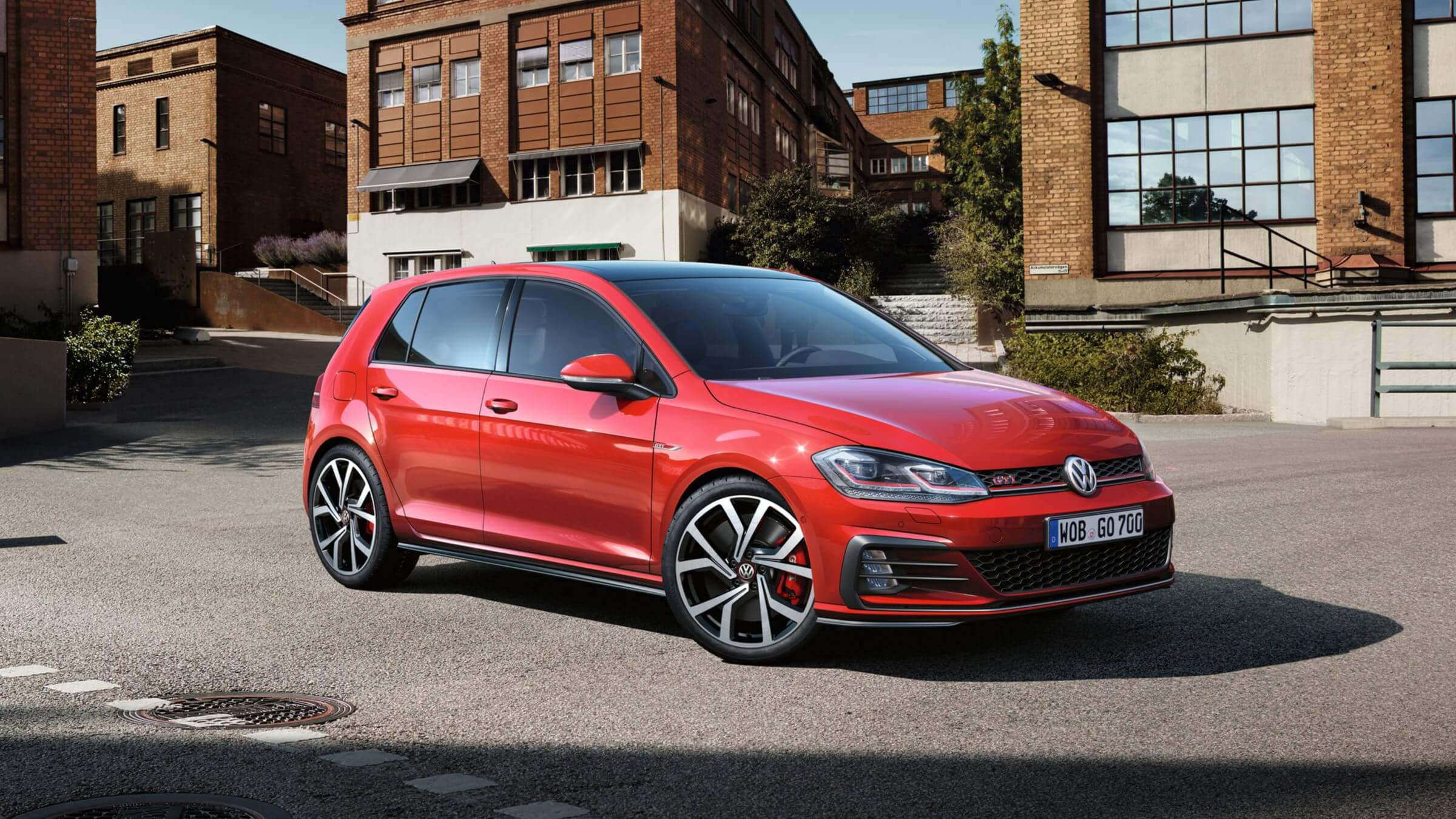 <strong>Golf GTi</strong><br>The original hot hatch. Image