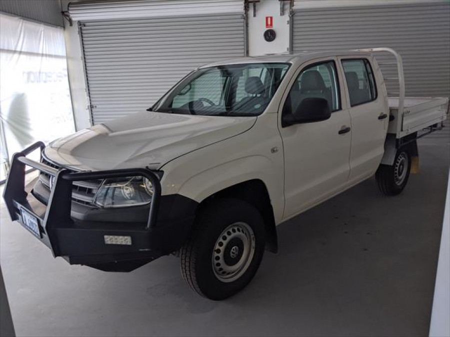 2012 MY14 Volkswagen Amarok 2H Dual Cab Chassis 4MOTION Cab chassis - dual cab