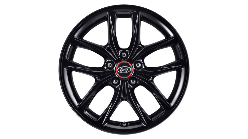 "<img src=""18"" Jindo glass black alloy wheel"