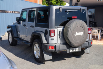 2014 Jeep Wrangler JK MY14 Unlimited Sport Softtop Image 2