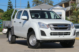 Isuzu UTE D-MAX SX Crew Cab Chassis 4x4