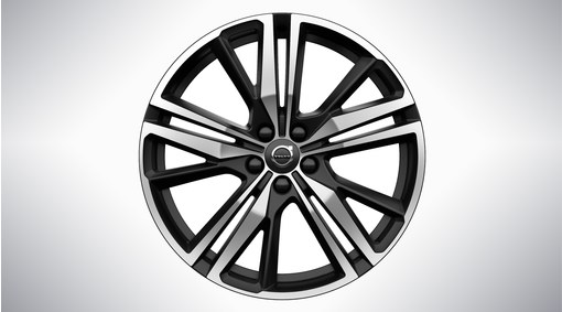 "19"" 5-Triple Spoke Matt Black Diamond Cut - 1042"