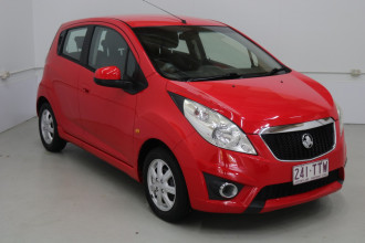 2011 Holden Barina Spark MJ MY11 CD Hatchback Image 3