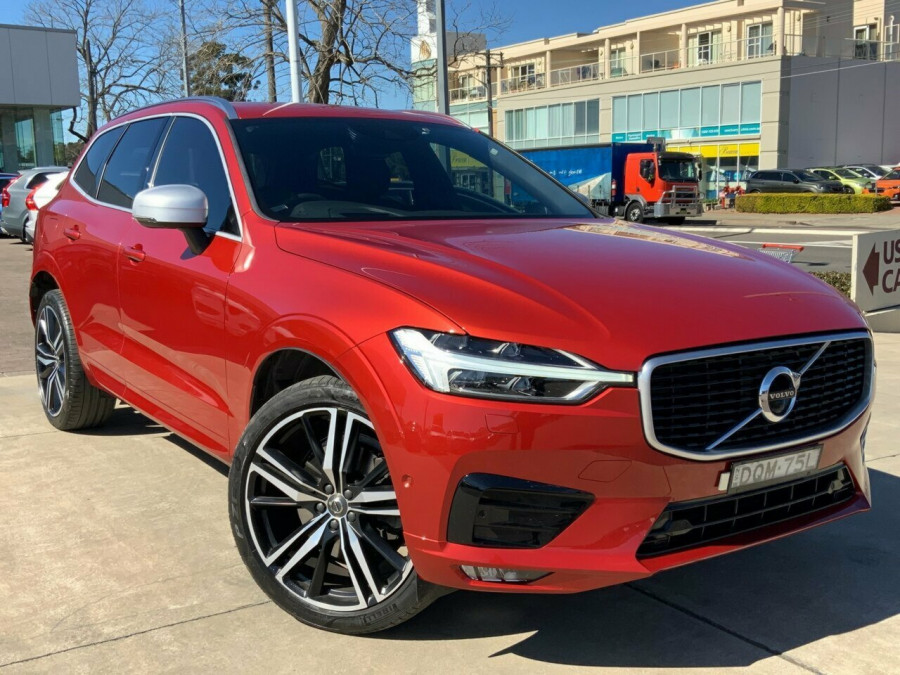 2017 Volvo XC60 DZ D5 Geartronic AWD R-Design Suv Image 1