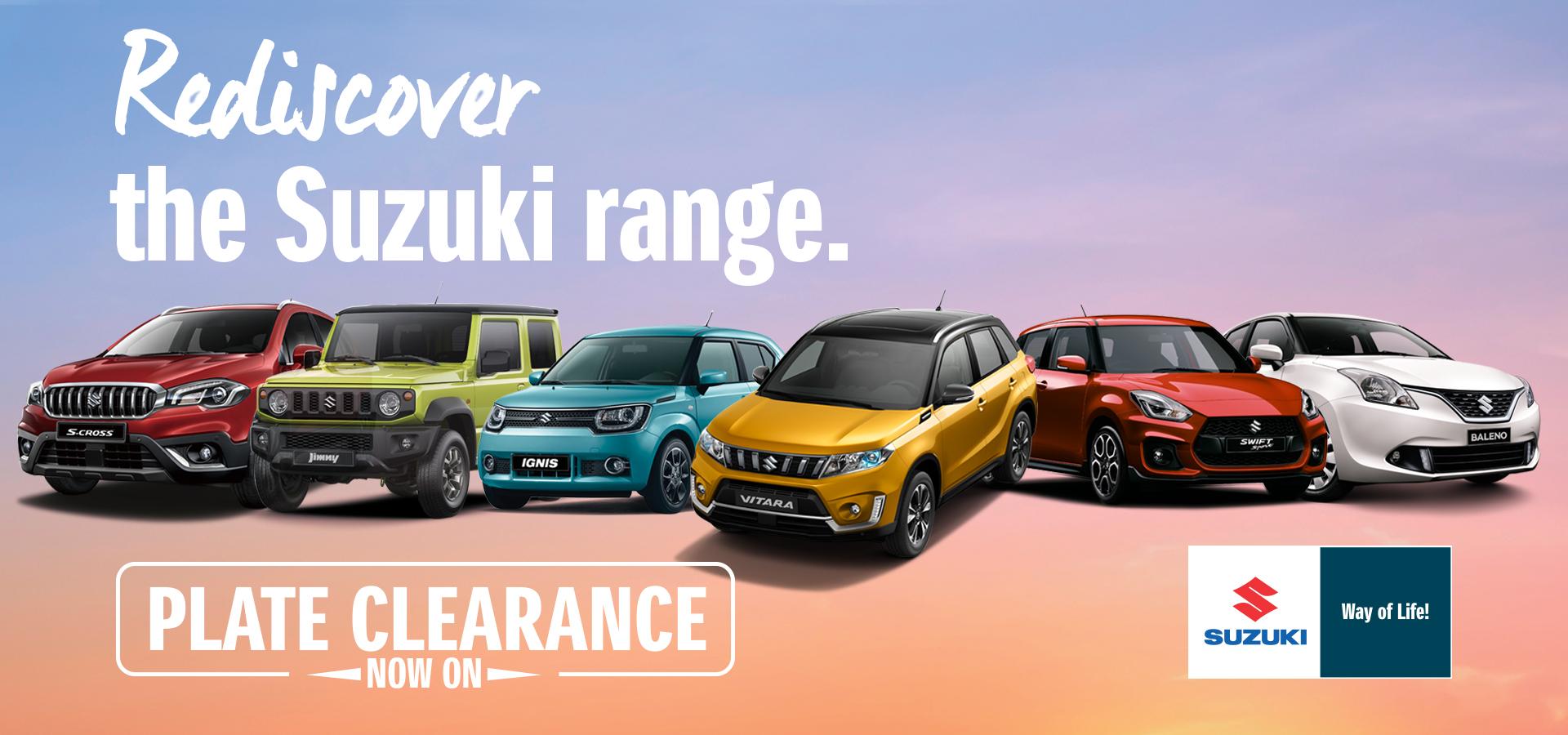 Suzuki Queensland Place Clearance