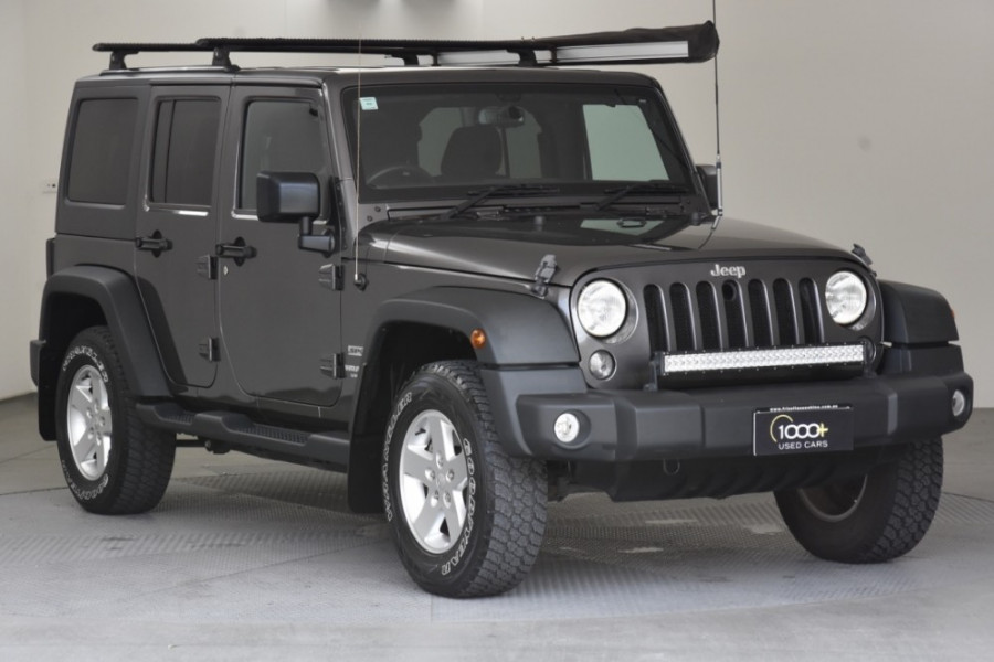 2016 Jeep Wrangler JK MY2016 Unlimited Softtop Image 1