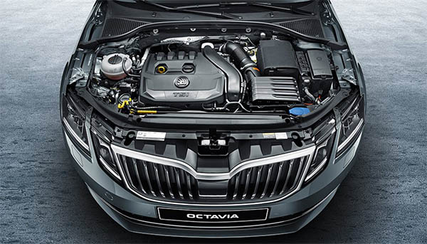 Octavia Turbocharged Engine