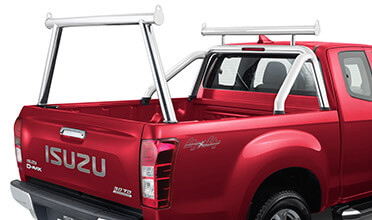 Polished Alloy Ladder Rack Kit