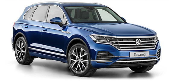 New Touareg Striking Design