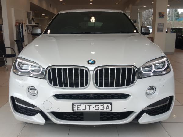 2017 BMW X6 Series F16 M50D Wagon
