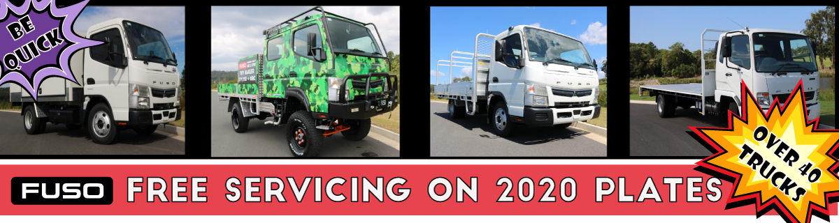 UP TO 3 YEARS FREE SERVICING ON 2020 PLATED TRUCKS