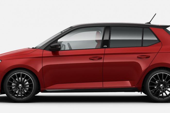 2019 MY20 Skoda Fabia NJ Monte Carlo Hatch Hatchback