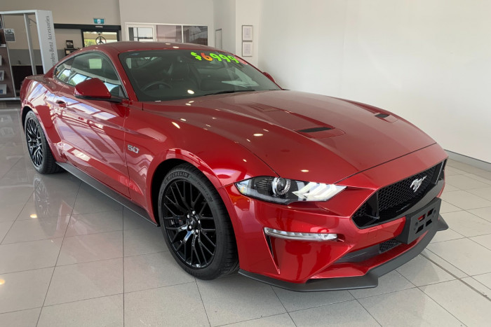 2019 MY20 Ford Mustang FN 2020MY GT Coupe
