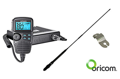 "<img src=""UHF CB Radio with Antenna plus bracket for Fender Mount - FLA"