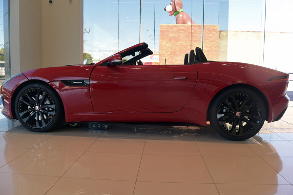 2019 MY19.5 Jaguar F-TYPE X152 R-Dynamic Convertible Convertible Image 4
