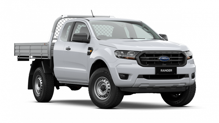 2020 MY21.25 Ford Ranger PX MkIII XL Super Cab Chassis Ute Image 1