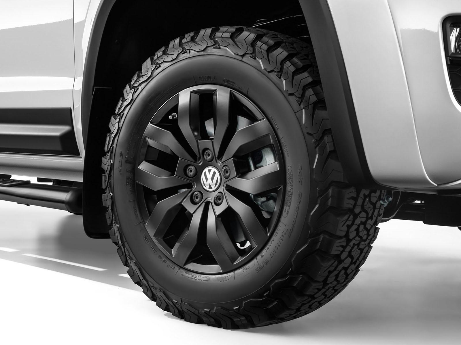 "17"" Rocadura alloy wheel in Matte Black"