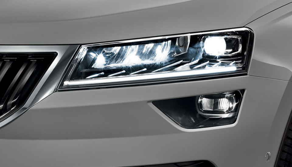 Karoq LED Headlights with AFS and Fog Lamps