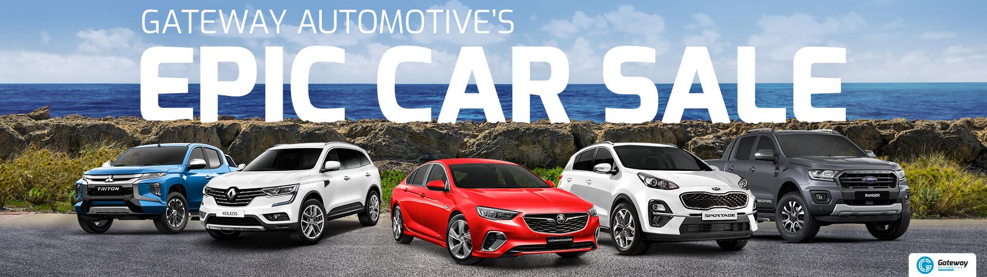 Gateway Epic Car Sale