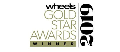 Wheels Gold Star Awards Winner 2019 Image