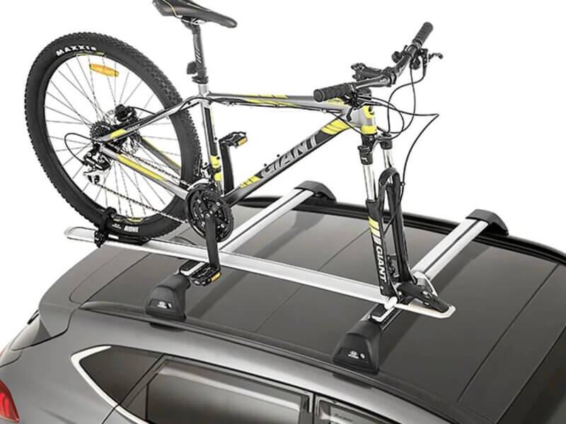 Bike carrier - wheel off