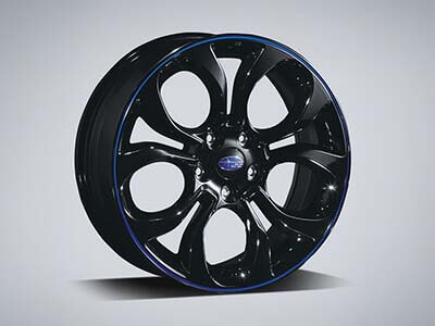 "Alloy Wheel Set 18"" - Blue"