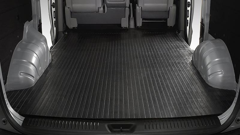 Rubber cargo mat.