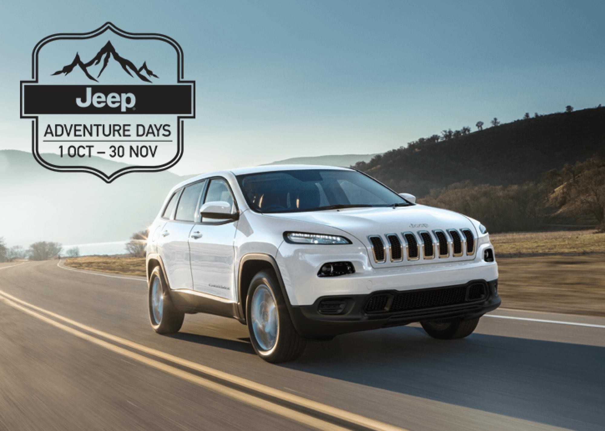 MY17 Jeep® Cherokee