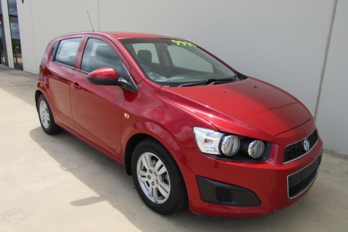 2012 Holden Barina TM TM Hatch