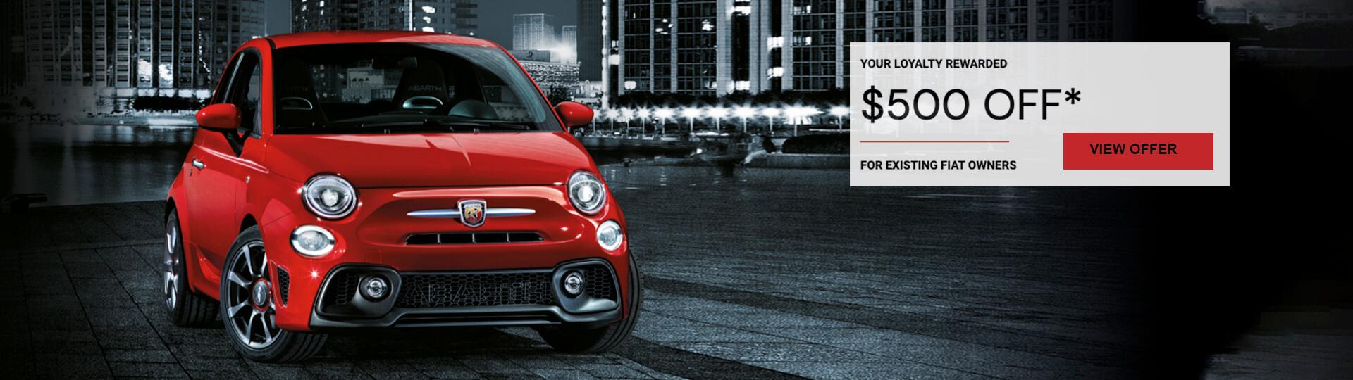 Cricks Auto Fiat December Offers